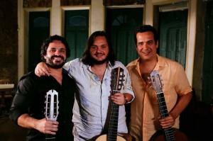 Rogério Caetano, Yamandu Costa e Zé Paulo Becker