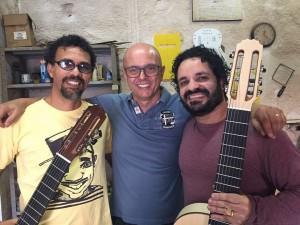 Fernando César, Lineu Bravo e Rogério Caetano